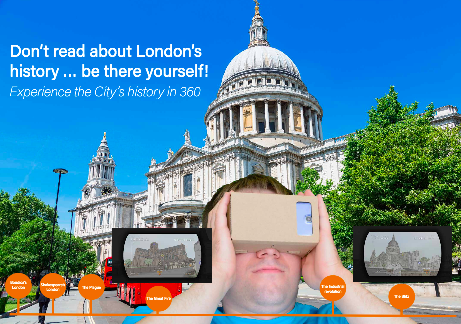 Smart City London VR Time Transporter