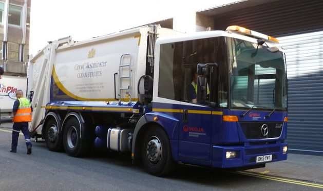 City Of Westminster Veolia Refuse Lorry