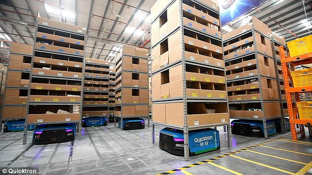 PlaceTech | World's smartest buildings: Alibaba warehouse, China
