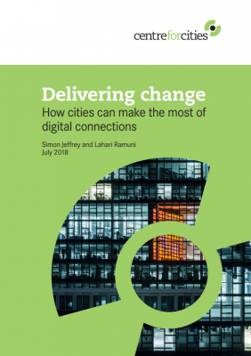 Centre For Cities Deliverying Change Cover