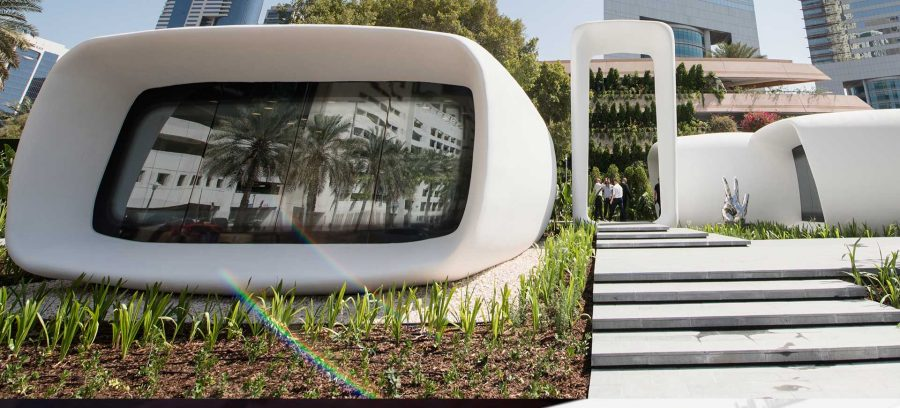Dubai First 3D Printed Office