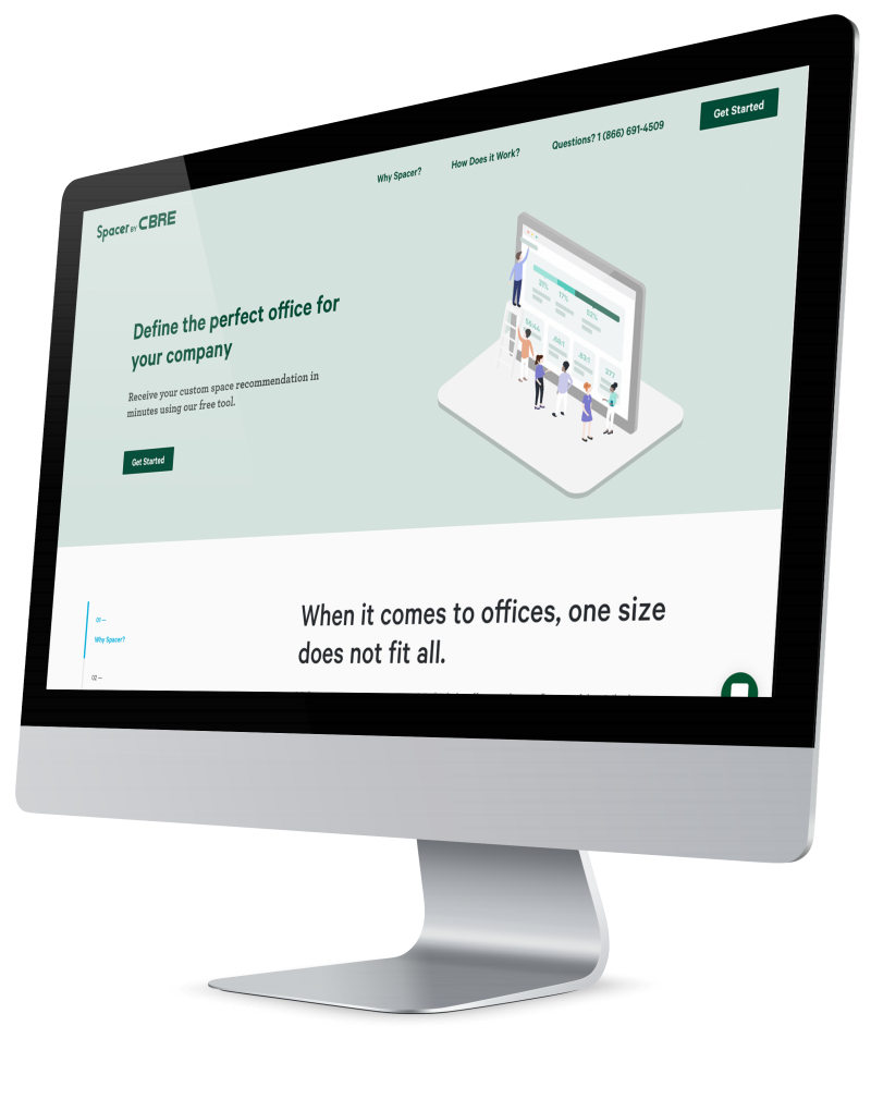PlaceTech | CBRE launches Spacer office tool