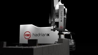 Hadrian X Bricklaying Robot