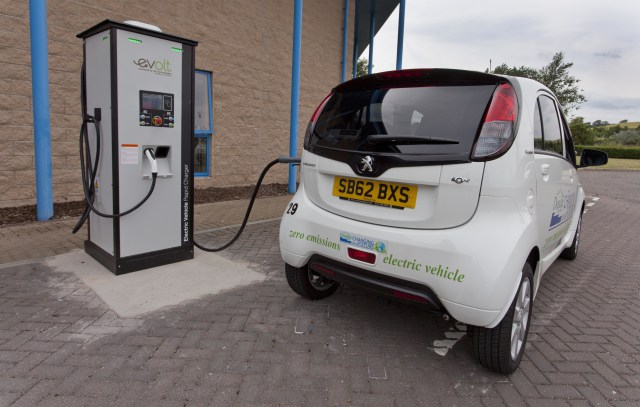 Dundee EV Charge Point