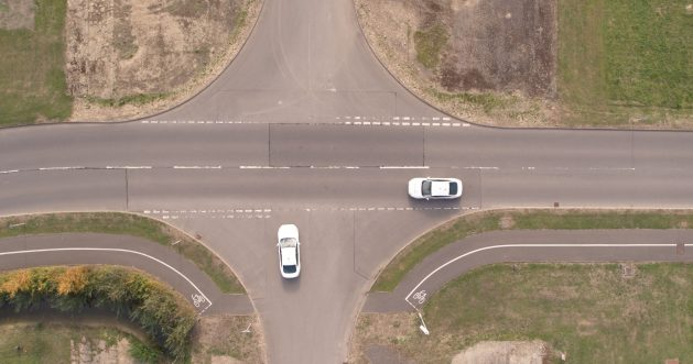 Ford cars avoid stopping at junctions