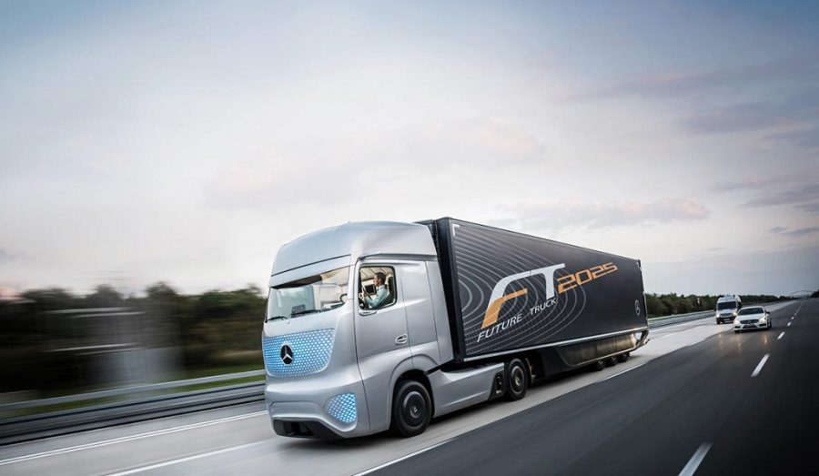 Hammerson Mercedes Future Lorry