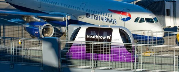 Ultra Global Pods At Heathrow