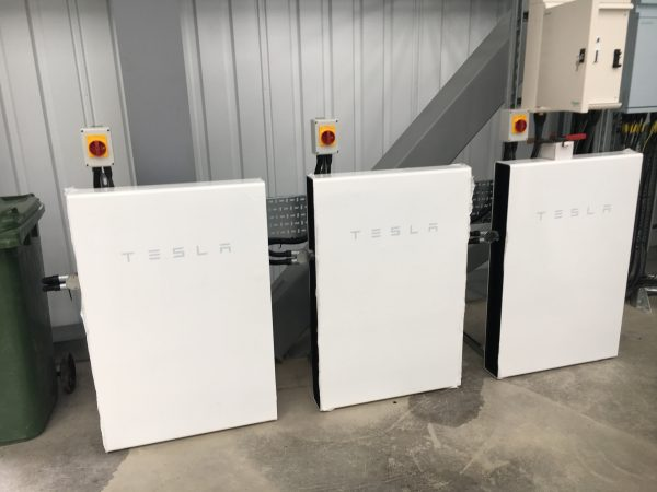 Prologis Report Tesla Battery Packs