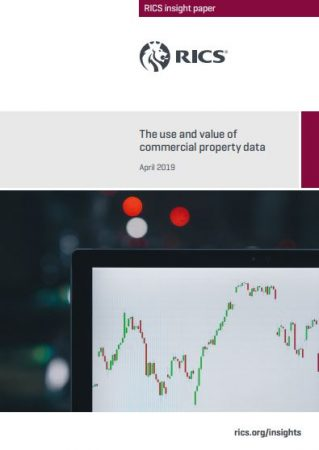 RICS The Use And Value Of Commerical Property Data Report