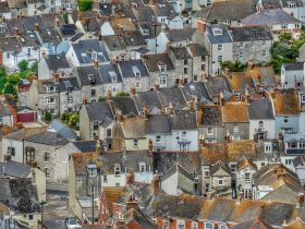 Terraced Houses Portland England