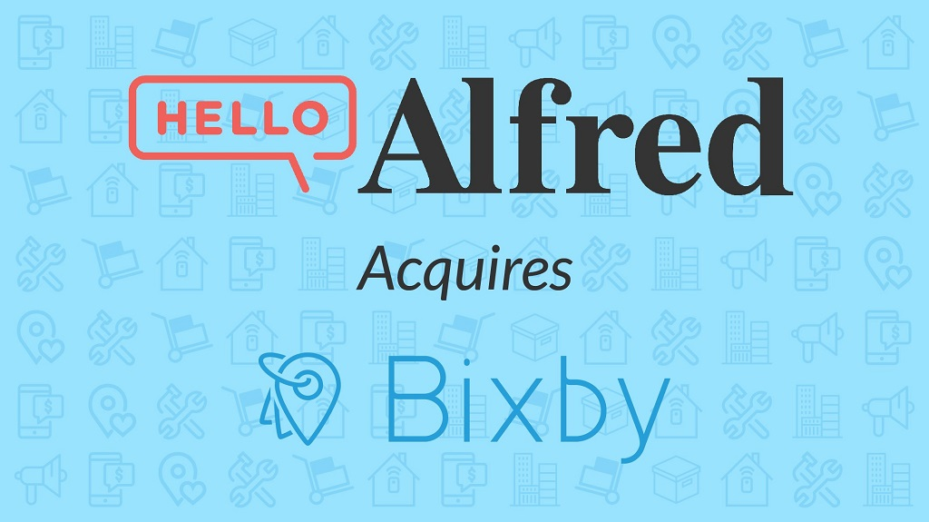 Hello Alfred Acquires Bixby