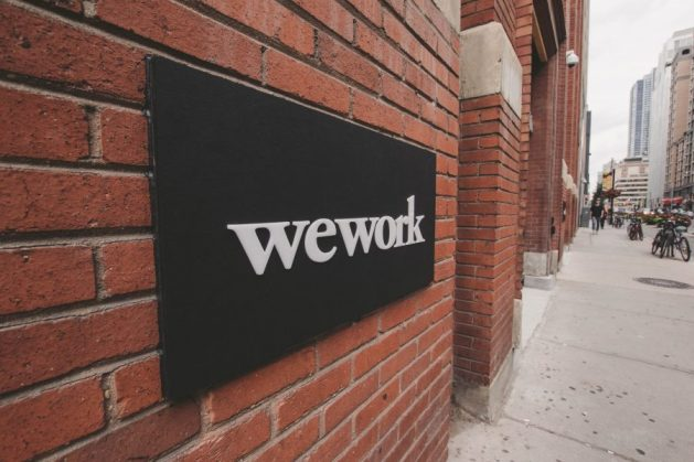 Wework Brick Wall