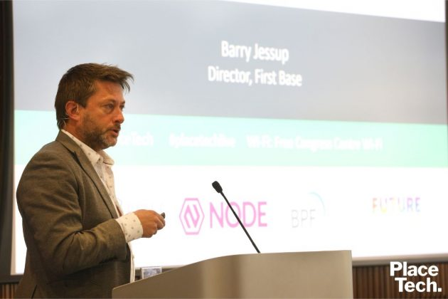 Barry Jessup, First Base PlaceTech Trend Talk London