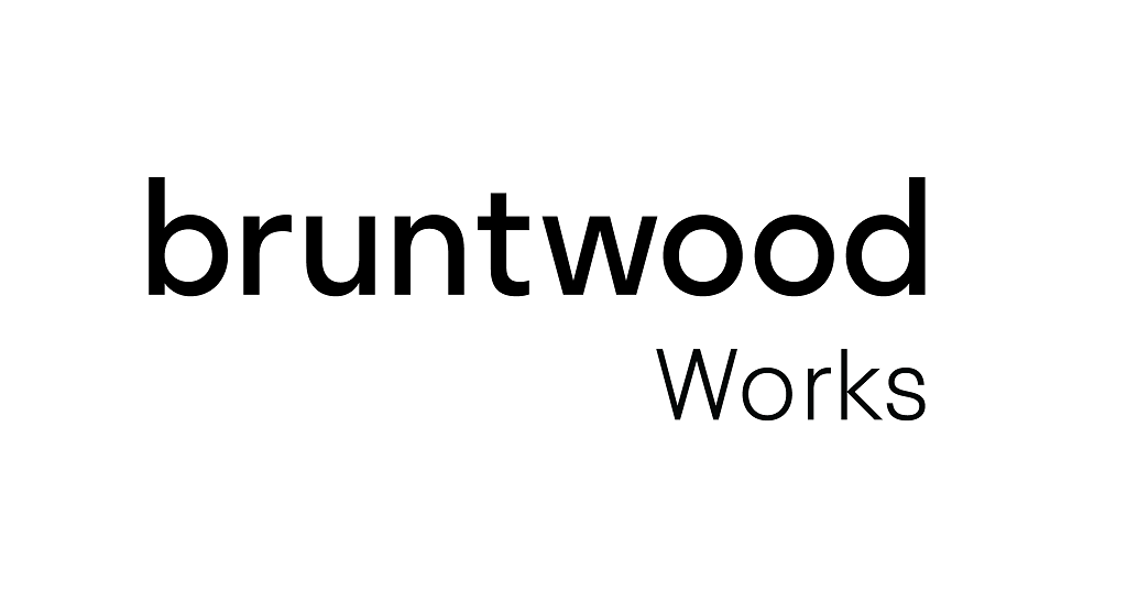 Bruntwood Works Logo White
