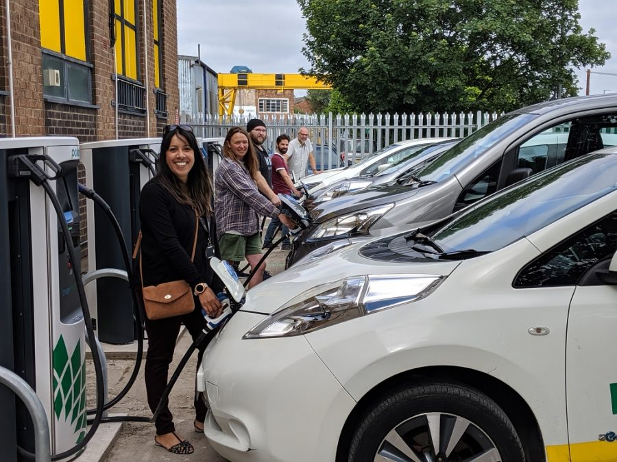 Electric Charging Pic Nottingham Air Pollution
