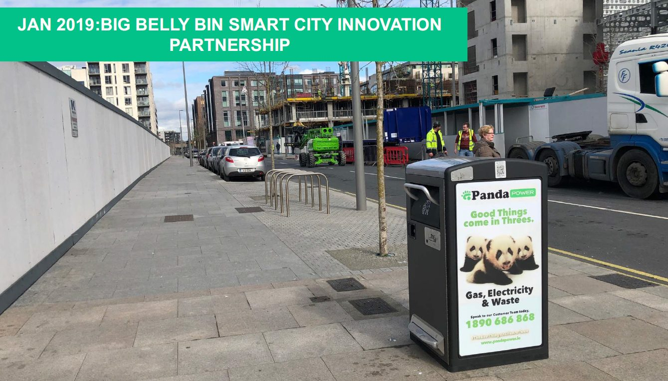 Smart Dublin Big Belly Bin