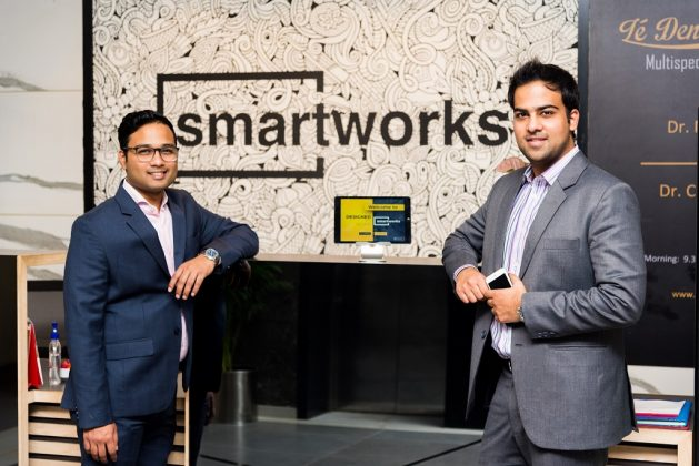 Smartworks Co Founders, Harsh Binani Left, Neetish Sarda, Right