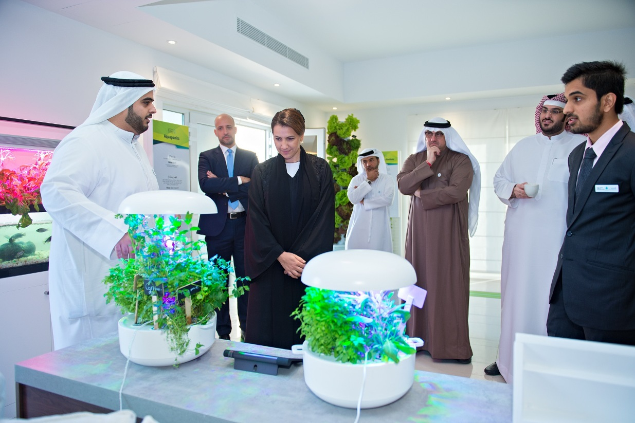 Smart Home Farming Credit Masdar City
