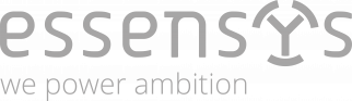 Essensys Logo Slogan Grey