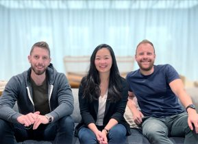 Nomad Homes founders Helen Chen, Dan Piehler, and Damien Drap