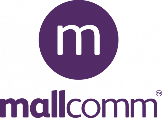 Mallcomm Logo Tight Stacked Transparent