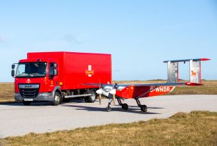 Royal Mail drone test flight