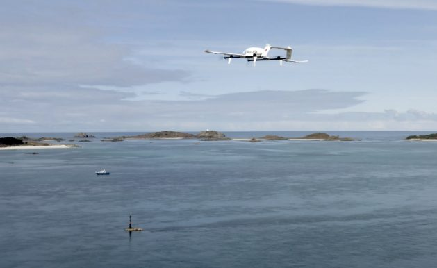 Scilly Skyports drone