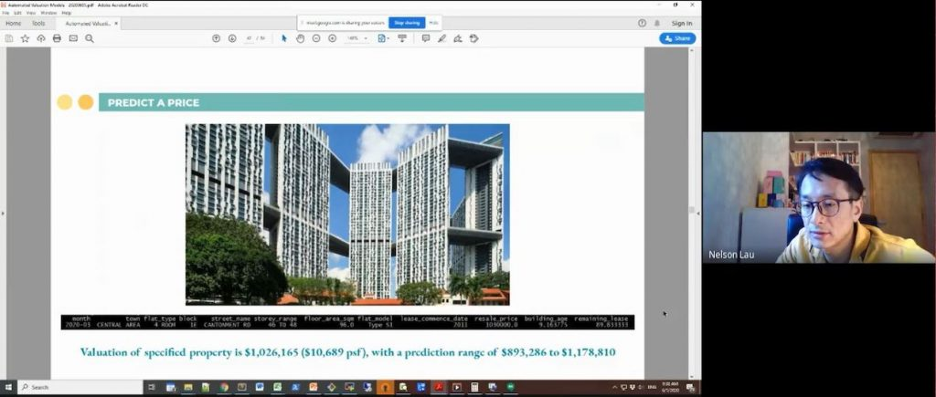 Screenshot PropertyQuants Course