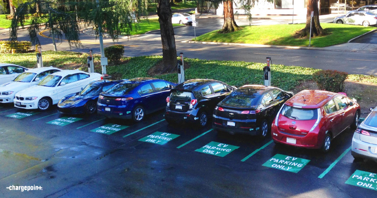 Chargepoint Parkinglot 0