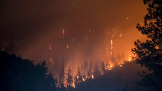 Wildfire California climate change